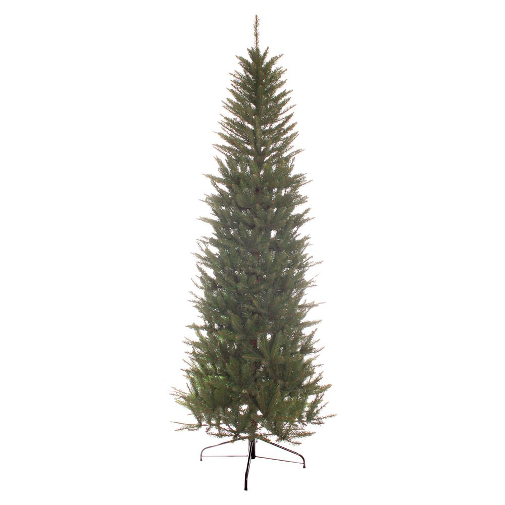 Puleo 7 ft. Unlit Slim Fraser Fir Artificial Christmas ...