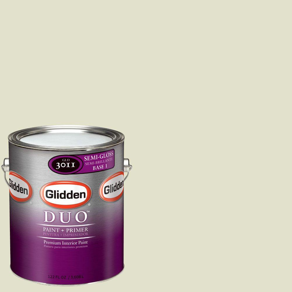 Glidden DUO Martha Stewart Living 1-gal. #MSL230-01S Endive Semi-Gloss Interior Paint with Primer-DISCONTINUED