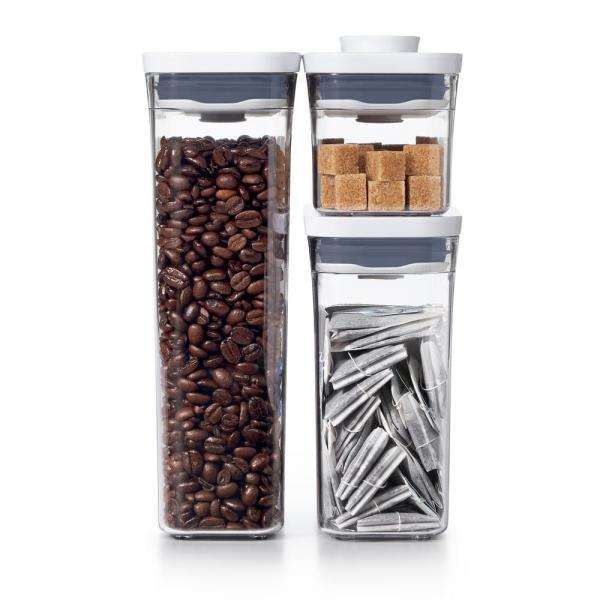 OXO Good Grips 3-Piece Slim Canister POP Container Set 11236300