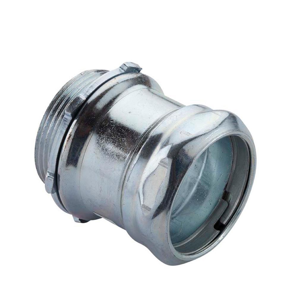 1 2 Quot Conduit Connectors : In electrical metallic tube emt compression