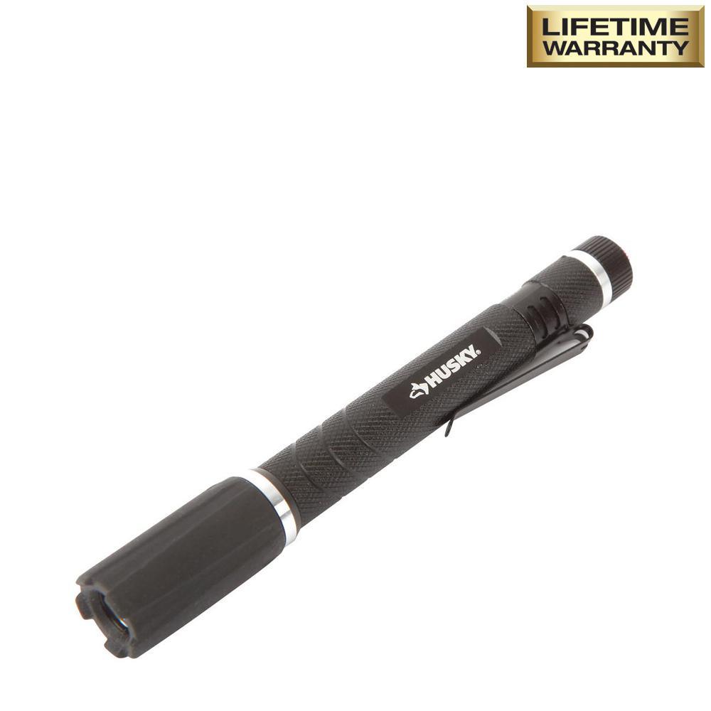 80 Lumen Virtually Unbreakable Aluminum Pen Light with Clip