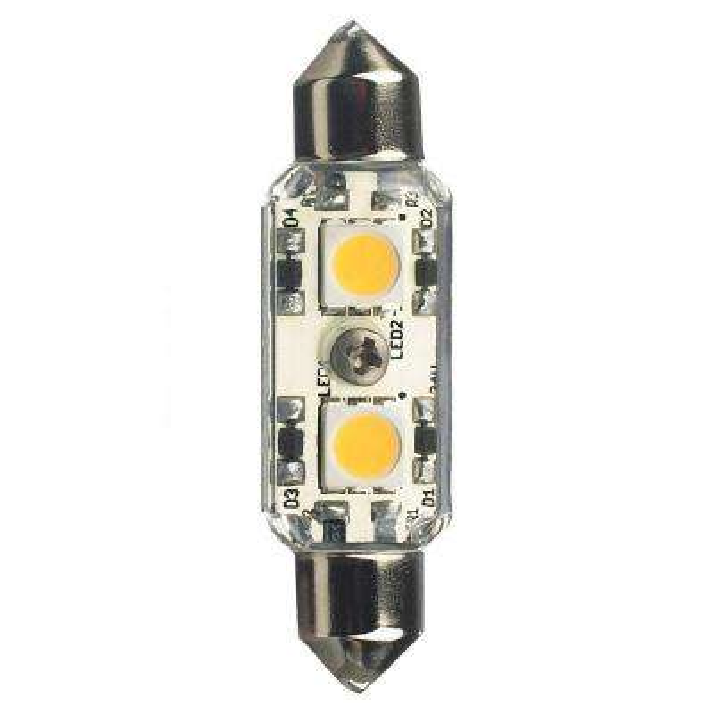 Ambiance 24-Volt LED Clear Festoon Lamp (4000K)