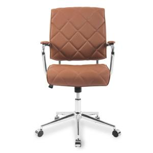 Pleasing Boraam Mira Brown Office Chair 97912 The Home Depot Ncnpc Chair Design For Home Ncnpcorg
