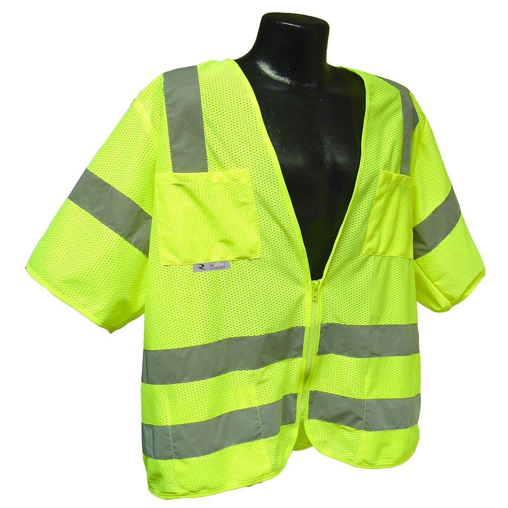 Std Class 3 2X-Large Green Mesh Safety Vest