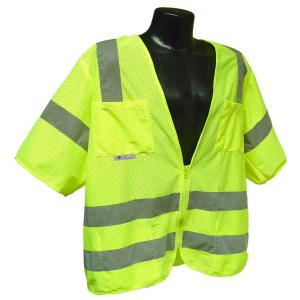 Radians Std Class 3 Large Green Mesh Safety Vest by Radians