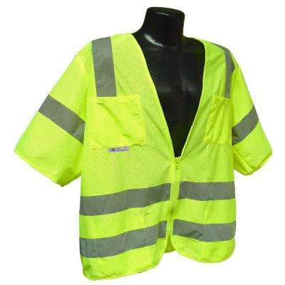 Std Class 3 Extra Large Green Mesh Safety Vest