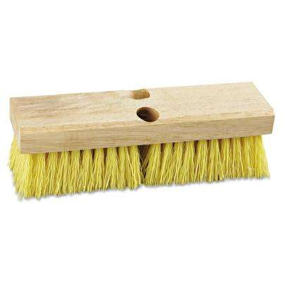 10 in. Polypropylene Bristles Deck Brush Head