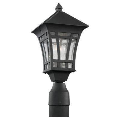 Herrington 1-Light Outdoor Black Post Top