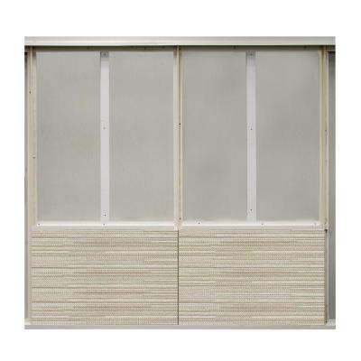 20 sq. ft. Storefront Fabric Covered Bottom Kit Wall Panel