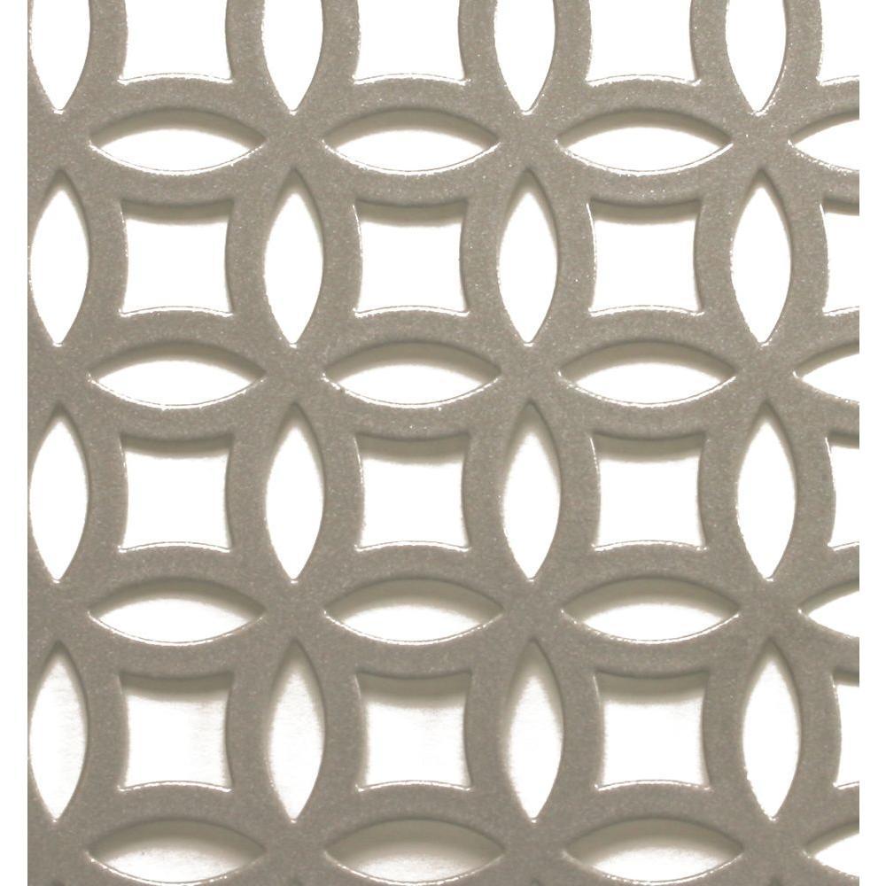 1 ft. x 2 ft. Satin Nick Elliptical Aluminum Sheet