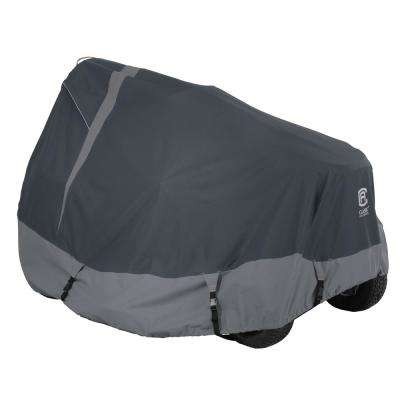StormPro 72 in. L x 44 in. W x 46 in. H Medium Rainproof Heavy-Duty Tractor Cover