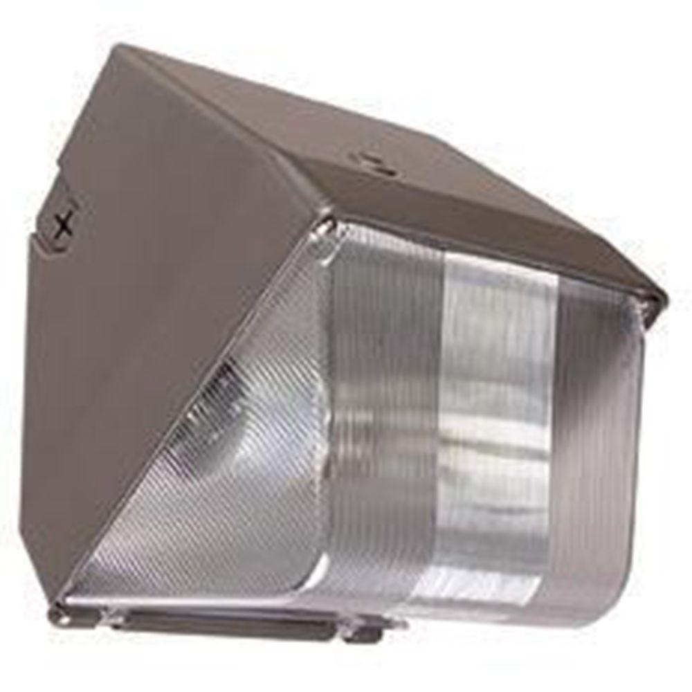 Exterior Mini Lighting: Luminance 100-Watt Bronze Outdoor HID Mini Wall Pack-F7304