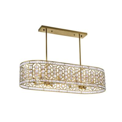 Belinda 8-Light Champagne Chandelier