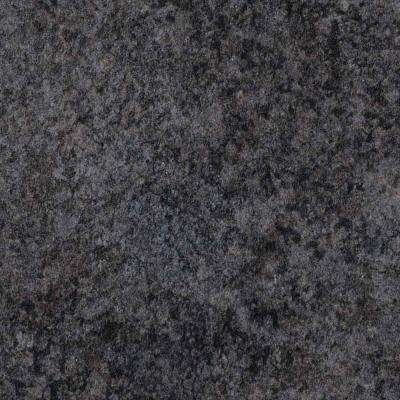 3 in. x 5 in. Laminate Countertop Sample in Deepstar Slate with HD Mirage Finish