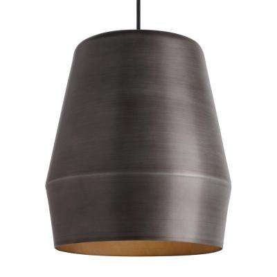 Allea 1-Light Fossil Gray Pendant
