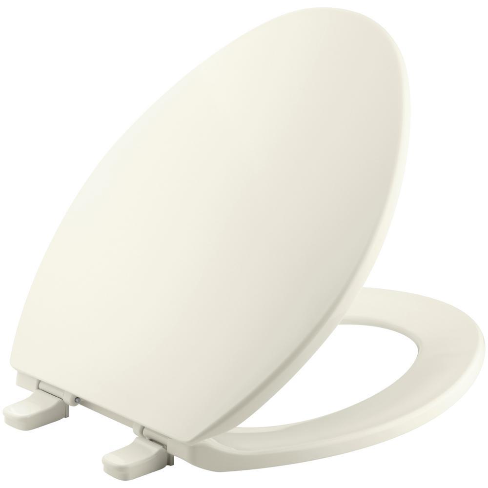 Kohler Grip Tight Cachet Q3 Elongated Closed Front Toilet