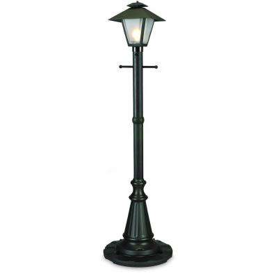 Cape Cod Black Outdoor Plug-In Post Lantern Patio