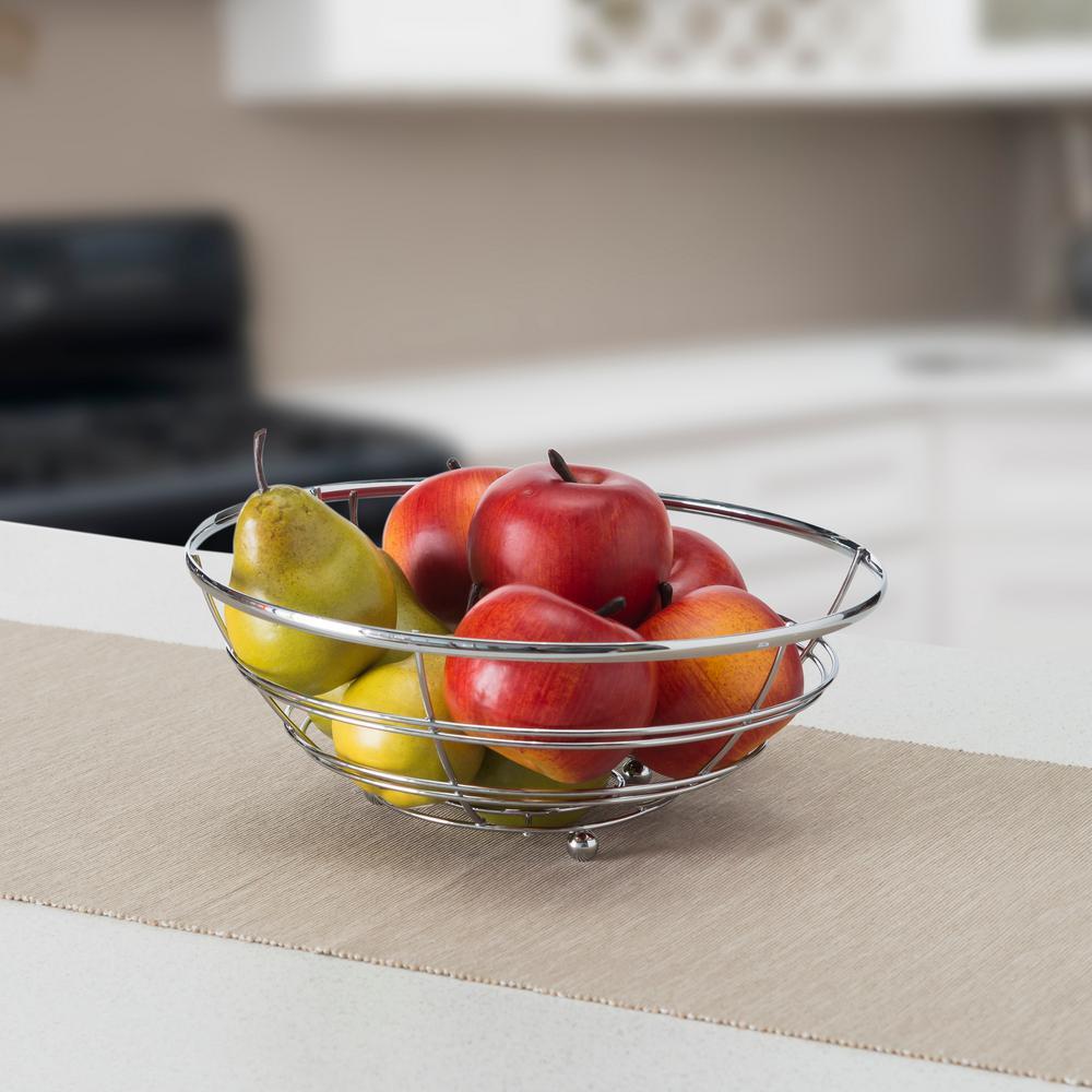 Home Basics Flat Wire Fruit Bowl FB00459