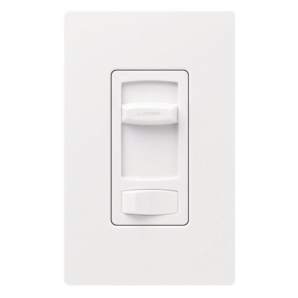 white lutron dimmers ct 603pgh wh 64_1000 lutron skylark contour 600 watt single pole 3 way preset eco  at bakdesigns.co