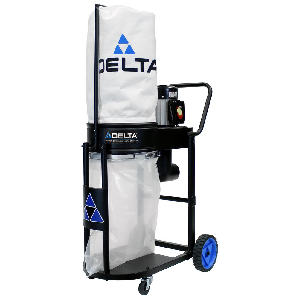 3ead130f60c9fe Delta 1 HP Induction Motor 750 CFM Dust Collection System-50-723 T2 ...
