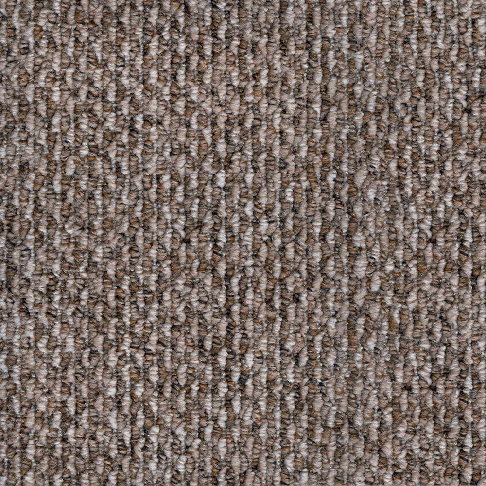 null Corkwood - Color Taos Loop 12 ft. Carpet