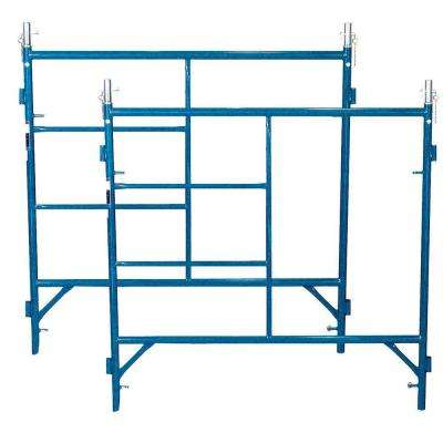5 ft. x 5 ft. Scaffold Frames with 2000 lb. Load Capacity (2-Piece)