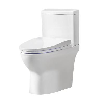 Wilma Elongated Electric Bidet Toilet in White