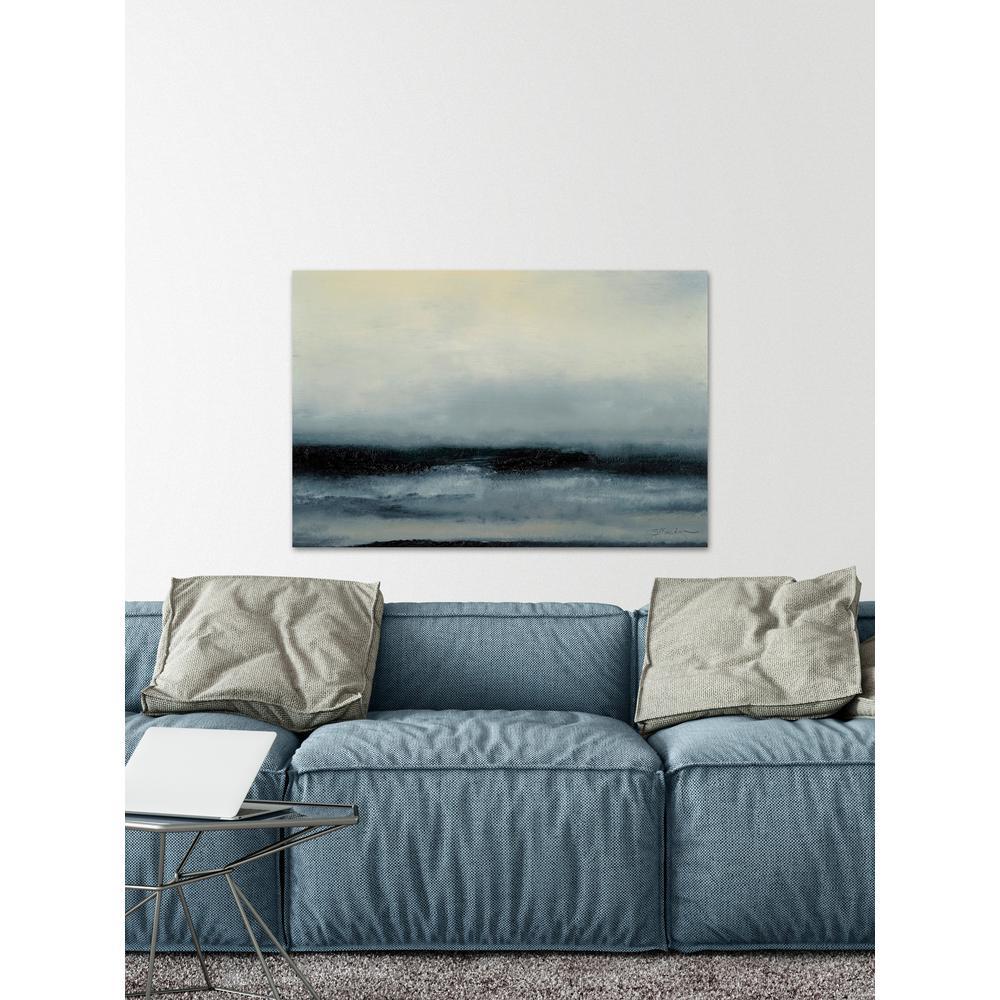 """30 in. H x 45 in. W """"Ocean Tide III"""" by Marmont Hill Canvas Wall Art"""