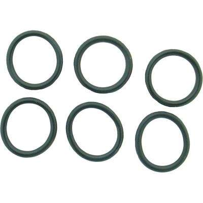 9/16 in. O.D. x 7/16 in. I.D. #241 Rubber O-Ring (6-Pack)