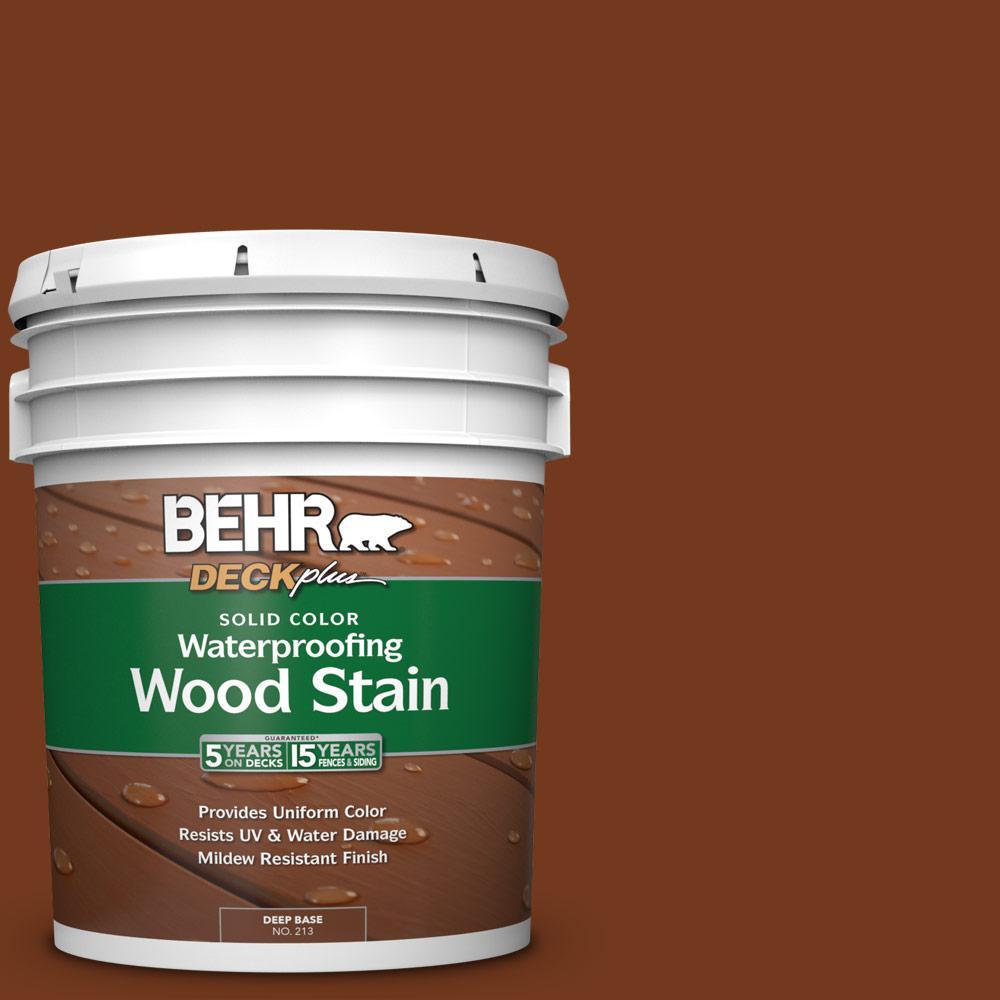 Woodbridge Home Exteriors: BEHR DECKplus 5 Gal. #SC-116 Woodbridge Solid