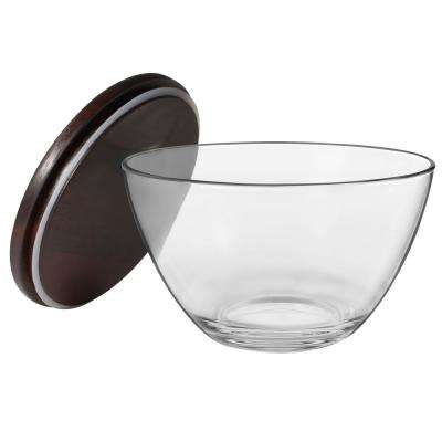 Urban 1-Piece Medium Glass Bowl Set with Lid
