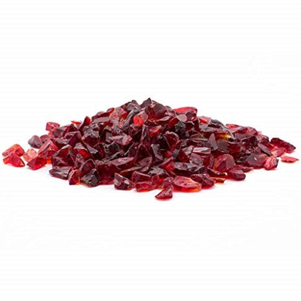 Margo Garden Products 1/2 in. 10 lb. Medium Red Landscape Fire Glass