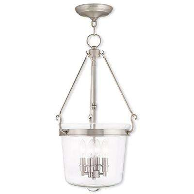 Winchester 4-Light Brushed Nickel Pendant