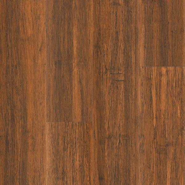 Antique Java 9/16 in. T x 5.31 in. W x 72.83 in. L Solid Wide Click Bamboo Flooring (21.50 sq. ft/case)
