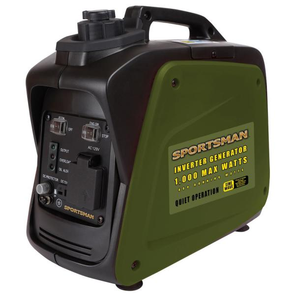 1,000-watt Gasoline Powered Digital Inverter Generator - CARB Approved