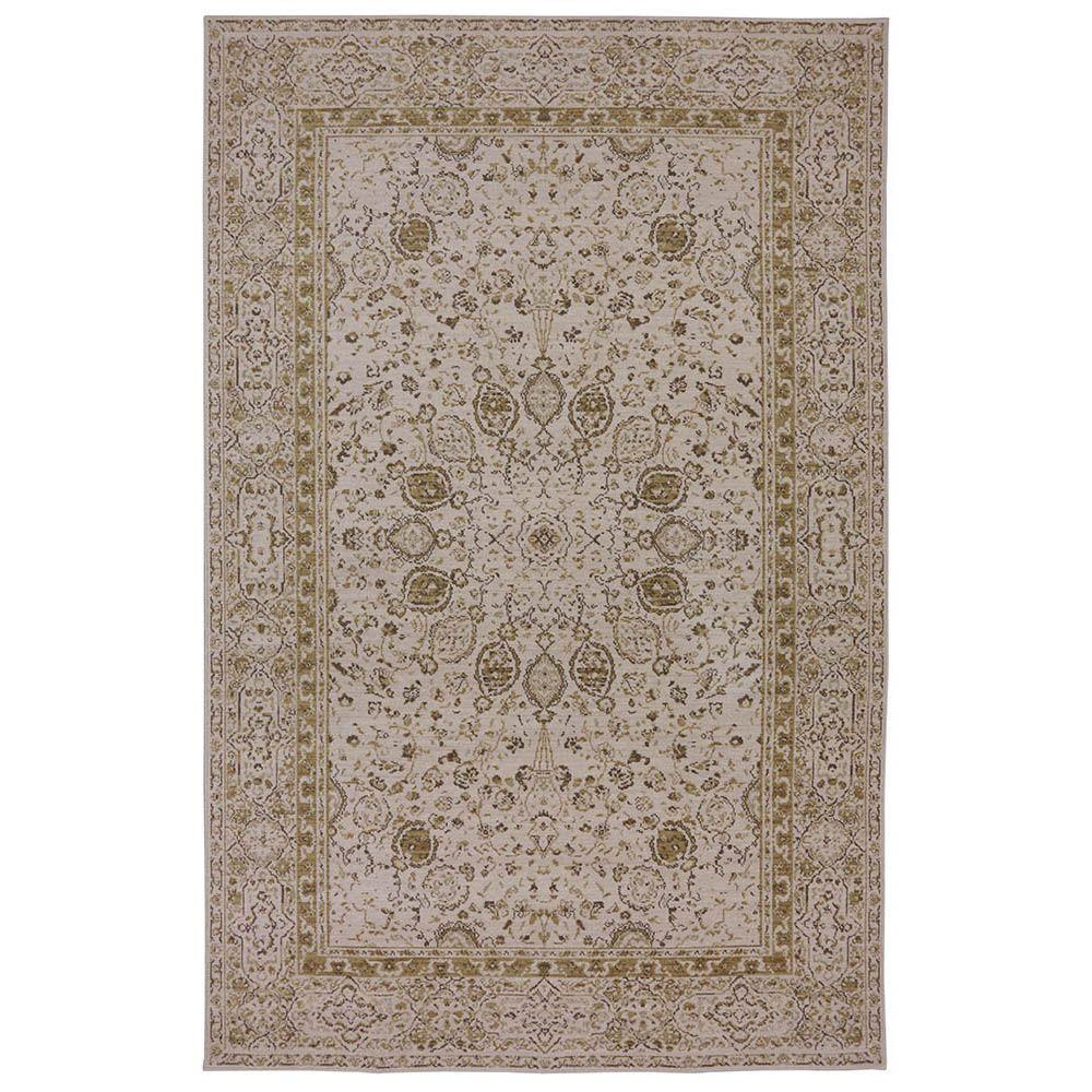 Karastan Everson Cream 8 ft. 6 in. x 11 ft. 6 in. Area Rug