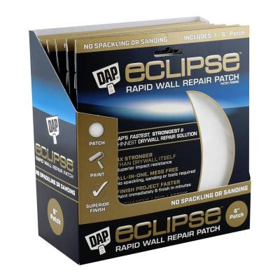 Eclipse 6 in. Wall Repair Patch (12-Pack)