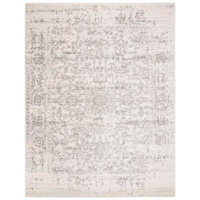 Madison Silver/Ivory 8 ft. x 10 ft. Area Rug