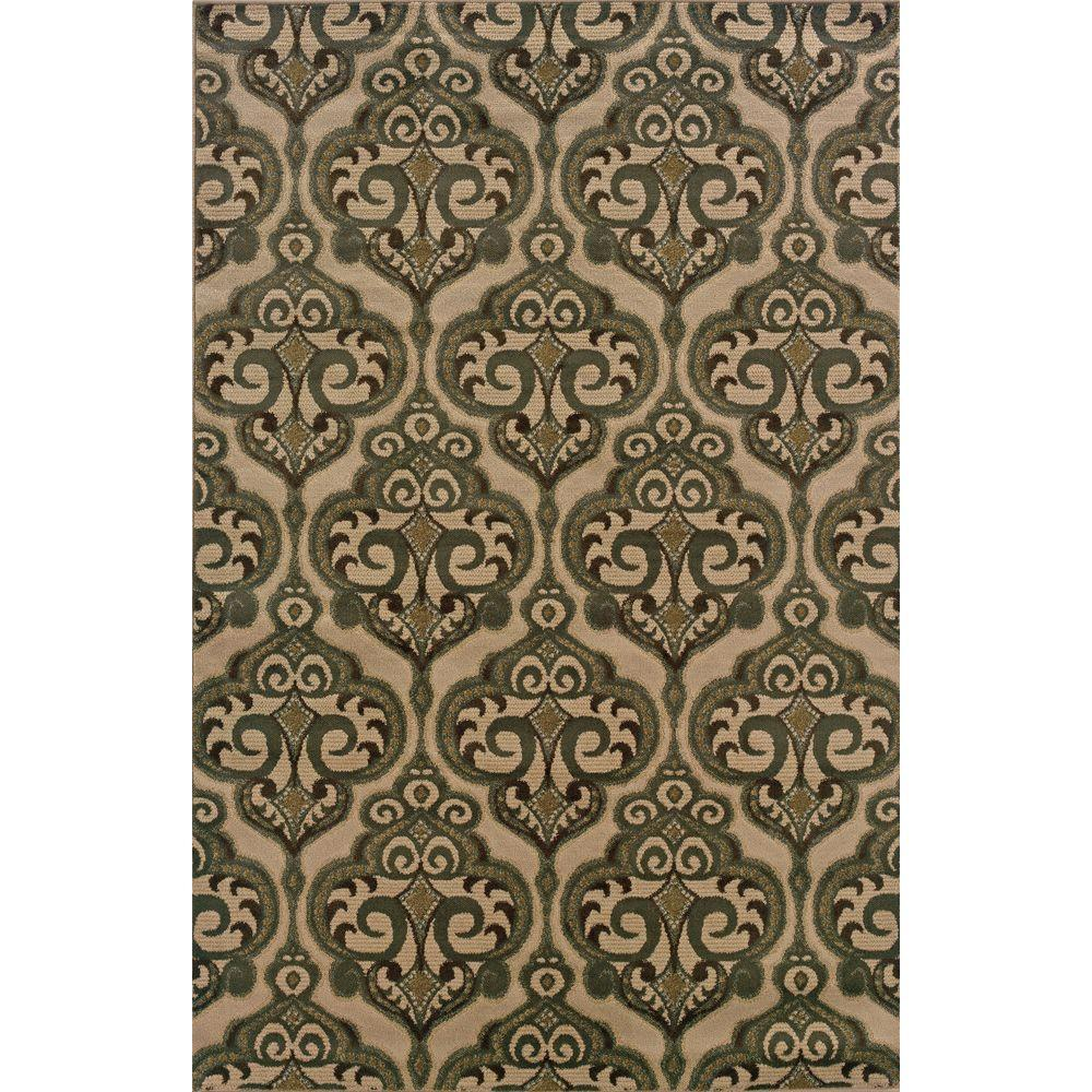 Oriental Weavers Camille Dalles Beige 7 ft. 10 in. x 10 ft. Area Rug