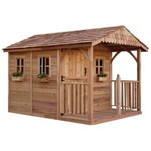 Outdoor Living Today Santa Rosa 12 ft. x 8 ft. Cedar Garden Shed by Outdoor Living Today