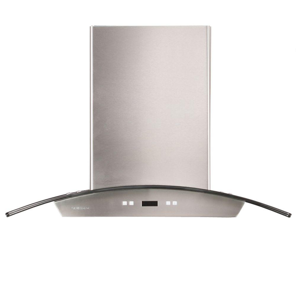 36 in. Convertible Range Hood in Stainless Steel