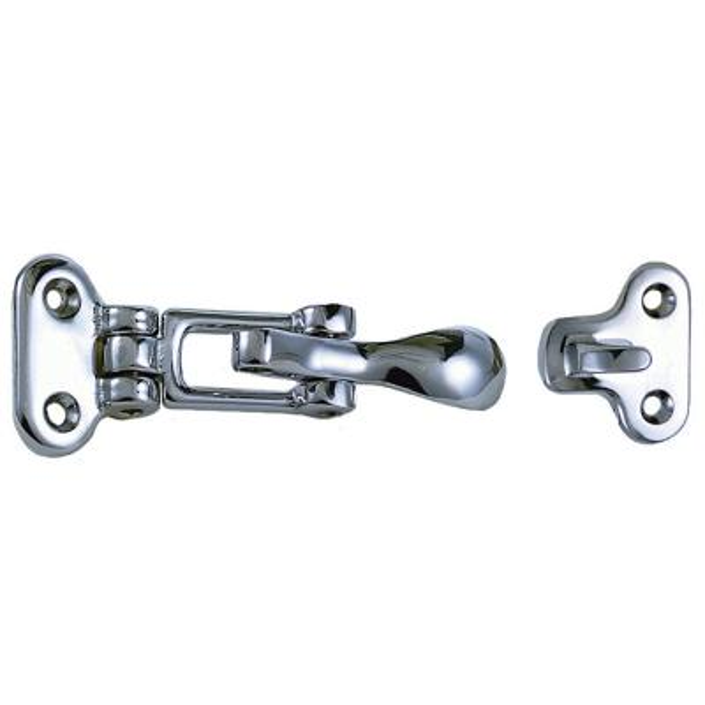 "Perko Flush Lifting Handle Chrome Bronze 3-3//4/"" X 2-3//4/"""