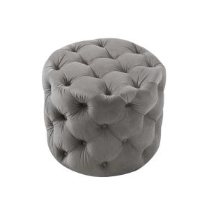 Fabulous Inspired Home Marianna Grey Velvet Tufted Allover Caraccident5 Cool Chair Designs And Ideas Caraccident5Info