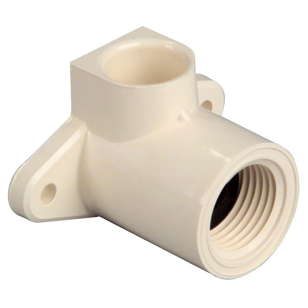 Everbilt 1/2 in. CPVC CTS 90-Degree Slip x FIP Elbow Fitting