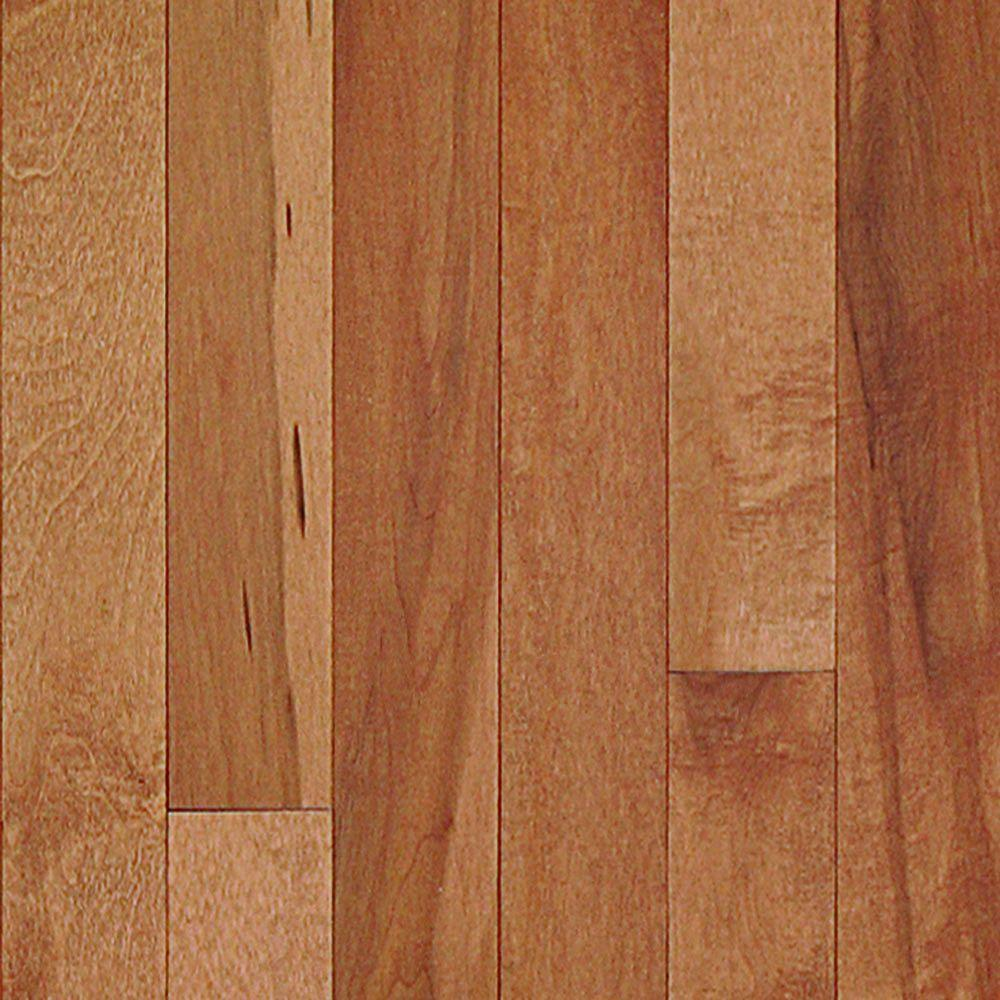 Millstead maple latte 3 8 in thick x 3 3 4 in wide x for Hardwood floors 1000 square feet
