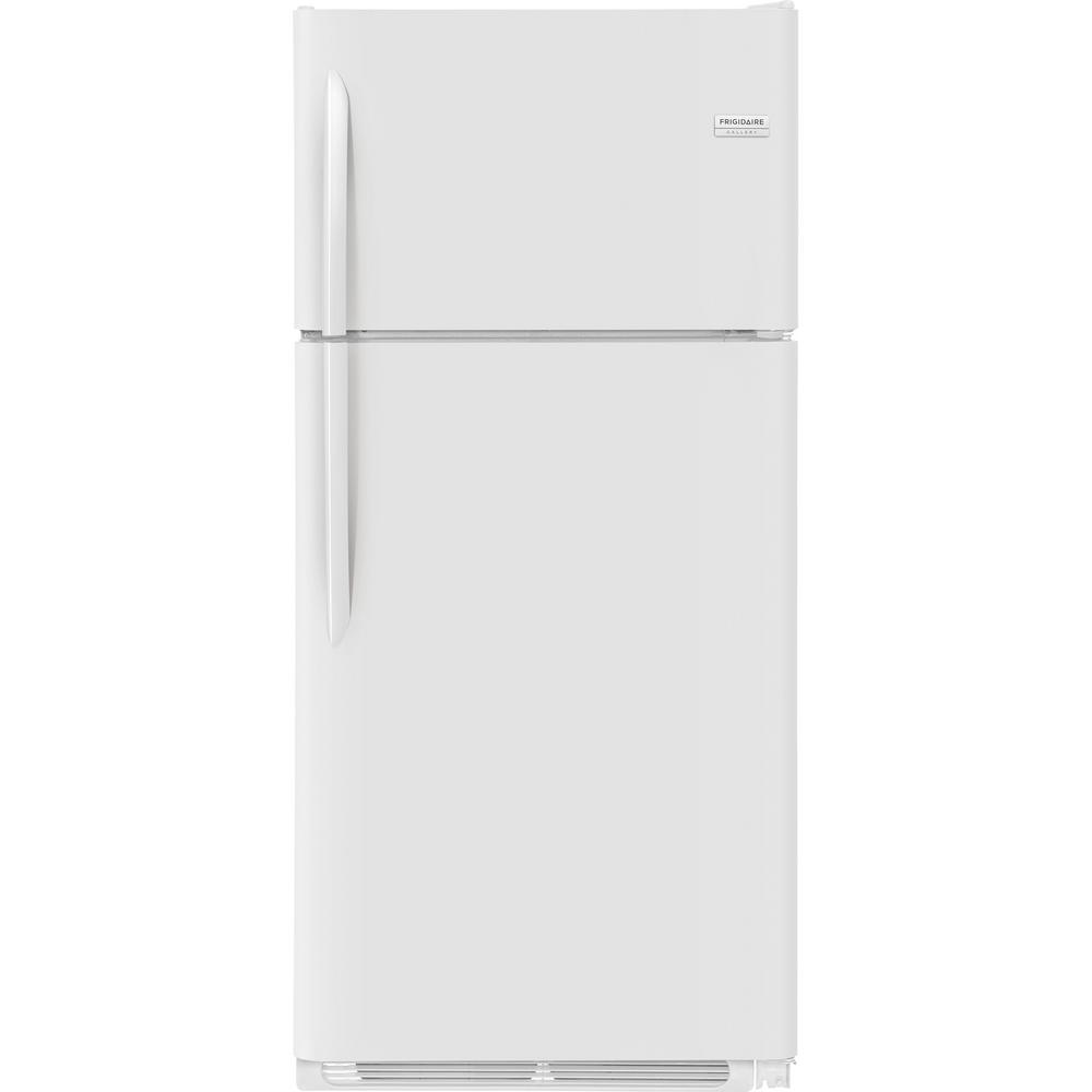 18.1 cu. ft. Top Freezer Refrigerator in White