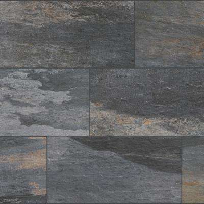 Longitude Slate Grey 12 in. x 24 in. Porcelain Floor and Wall Tile (15.5 sq. ft. / case)