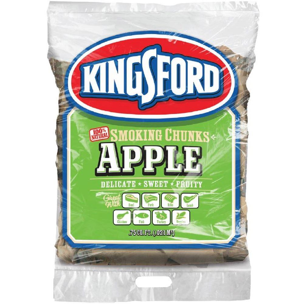 0.75cu. ft. BBQ Apple Wood Chunks