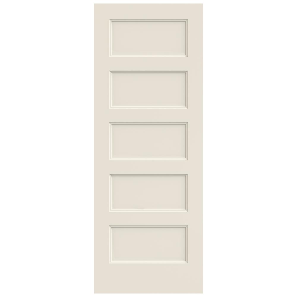 JELD-WEN 28 In. X 80 In. Conmore Primed Smooth Molded