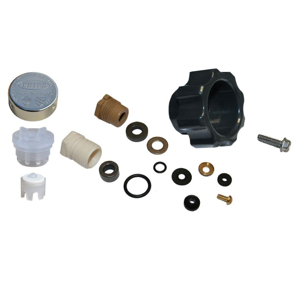 Prier Products Wall Hydrant Complete Service Kit-630-8500 - The Home ...